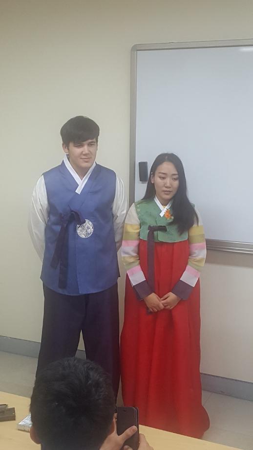 한국어교사 실습 수업(문화 수업) 이미지