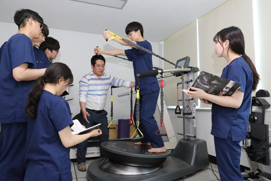 물리치료학과, 자격증 취득 위한 커리큘럼 완성 이미지